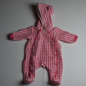 Nordstroms Baby Hooded Bunting